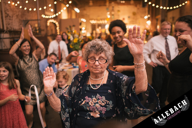 Grandma Dancing in Baltimore