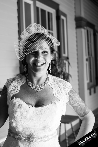 The Southern Mansion Cape May, NJ Allebach Wedding Photography Tattooed Bride