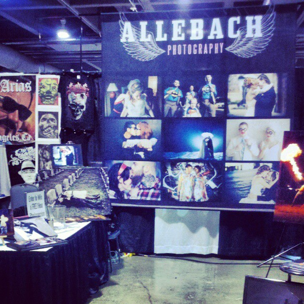 2014 Philadelphia Tattoo Convention booth