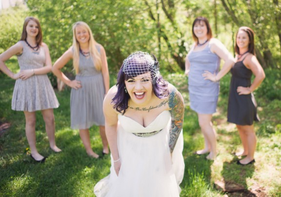 Tattooed Brides by http://AllebachPhotography.com