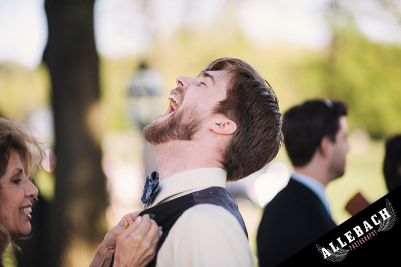 wedding groom excited