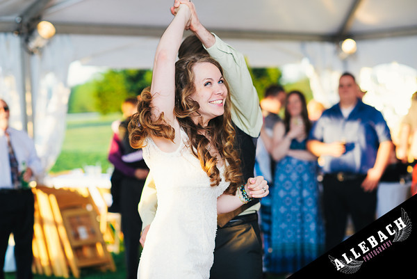 Yellow House of Willowdale Kennett Square wedding dancing